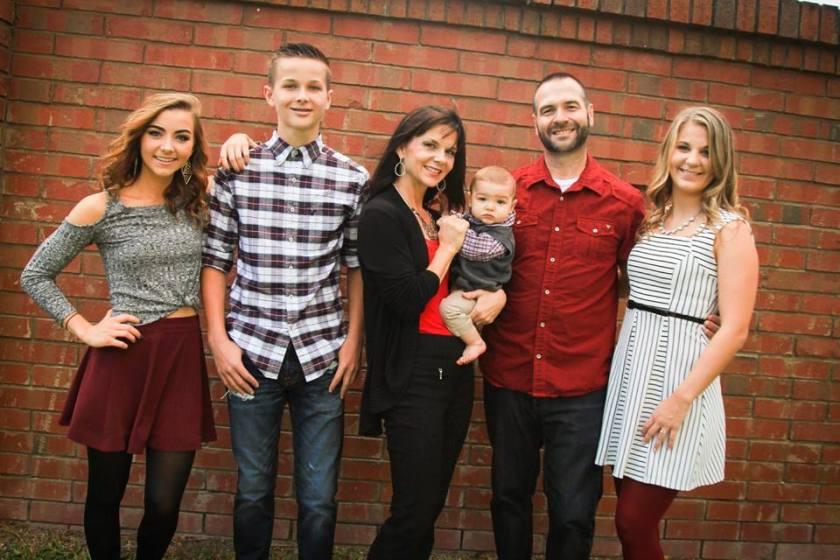 Olivia, Trent, Amy, Barclay, Brent & Danielle