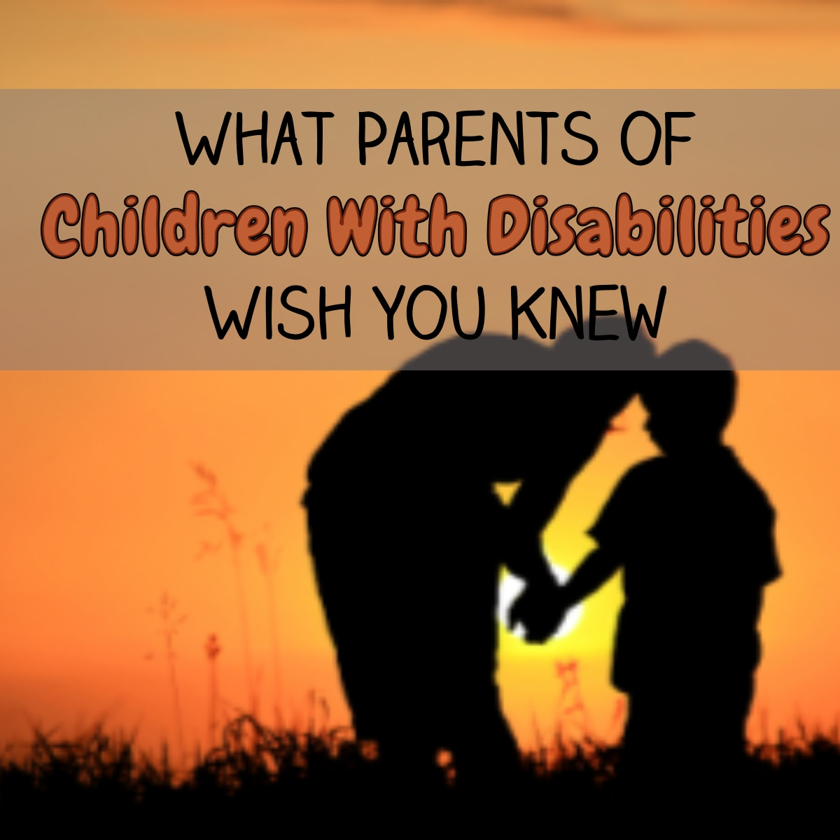 What Parents of Children with Disabilities Wish You Knew