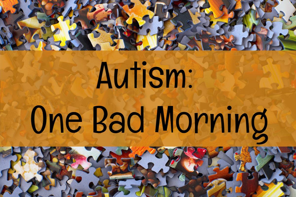 Autism:  One BadMorning